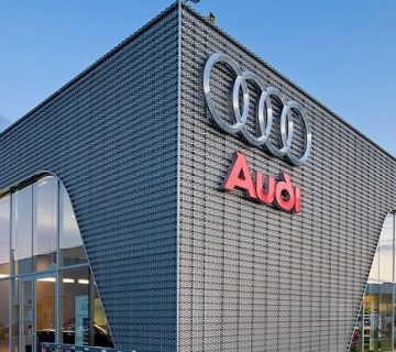 فرایندهای مالی Audi به کمک بیزاجی